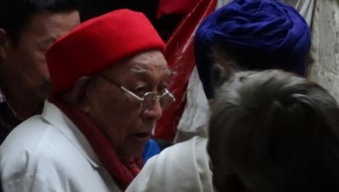 Dr Dhonden at Dharamsala