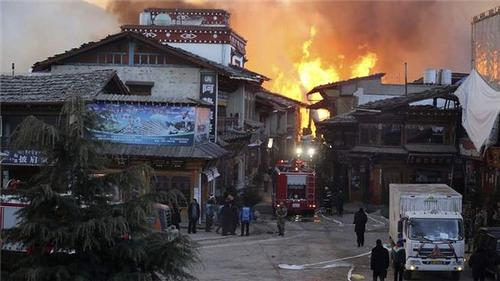 Firefighters at Dharamsala