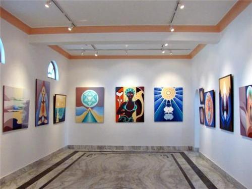 Art Gallery at Dharamsala