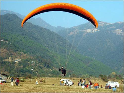 Paragliding at Dharamsala