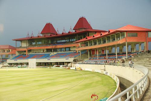 Stadium at Dharamsala