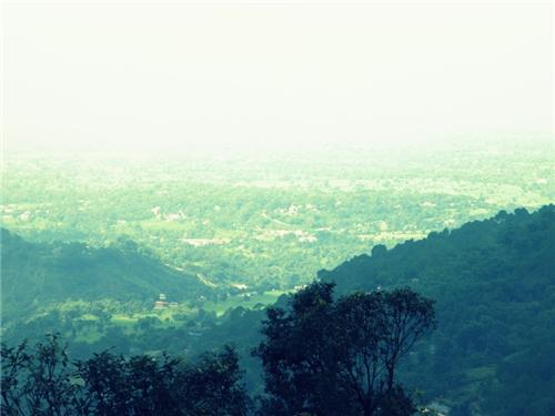 The view from Dharamsala
