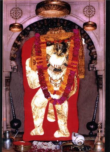 Idol of Lord Balaji