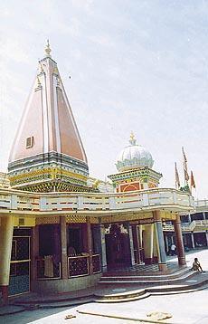 Kamahi Devi Shrine in Hoshiarpur