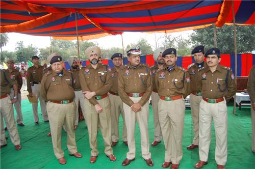 Police in Hoshiarpur