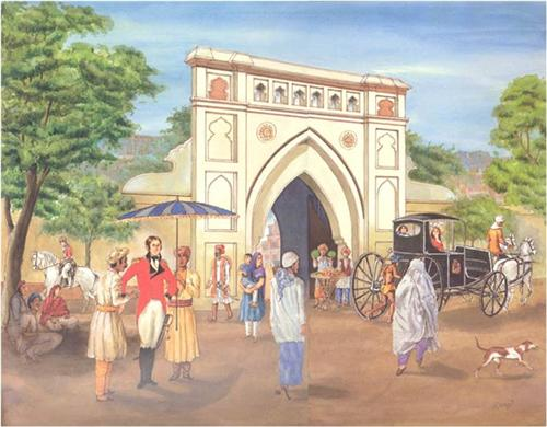Modern history of Hoshiarpur