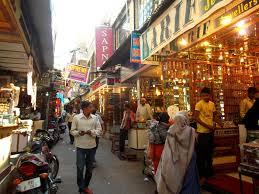 By lanes in Laad Bazaar