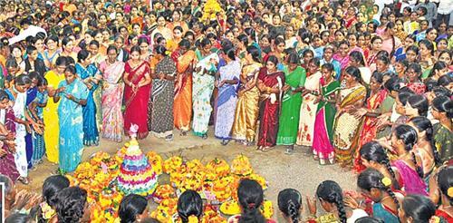 Bathukamma Festival in Hyderabad