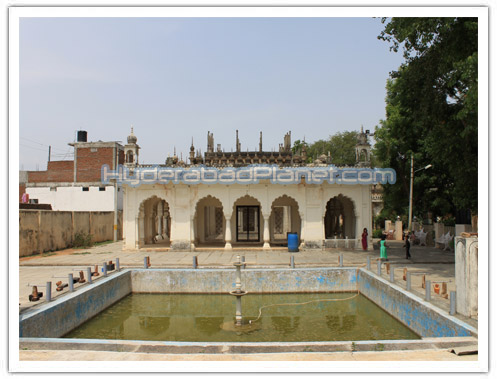 Paigah tomb in Hyderabad