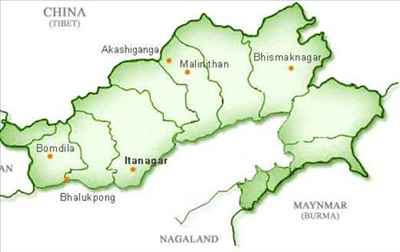 Geography of Itanagar