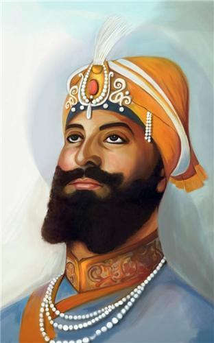 Guru of Sikh Religion