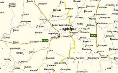 Geography of Jagdalpur