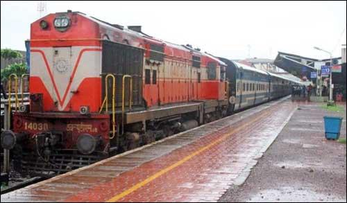 Trains from Jahanabad