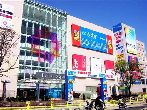 Pink Sqaure Mall in Jaipur