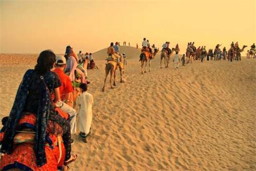 Dune bashing in Jaiselmer