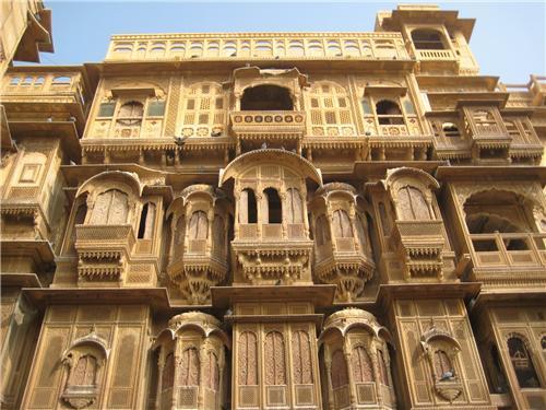Havelis in Jaisalmer