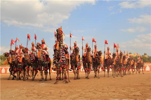 Sporting activities in Jaisalmer