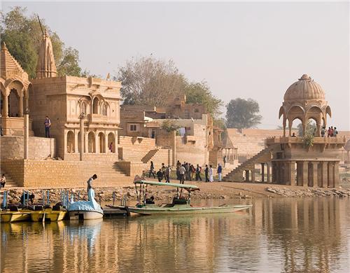 Gadsisar Lake at Jaisalmer-Credit Rajasthan Tourism