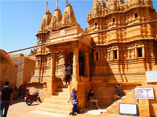 Temples in Jaisalmer