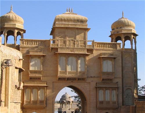 Tillon ki Prol at the Gadsisar Lake Entrance-Credit Rajasthan Tourism