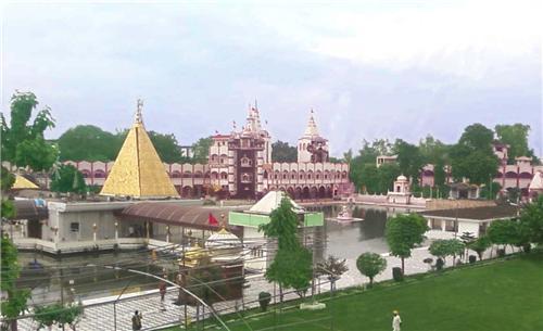 Holy Shrine of Devi Talab Mandir in the City of Jalandhar