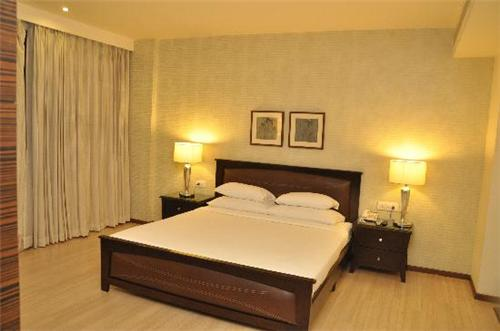 Accommodation facilities in the Hotel M1 in Jalandhar