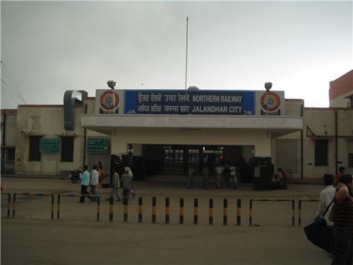 Railway stations at Jalandhar