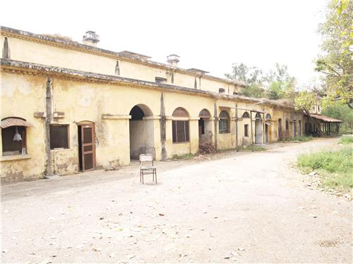 Old court building in Jalandhar