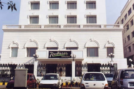 5 Star Hotel Radisson in the city of Jalandhar