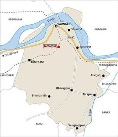 Geography of Jamalpur