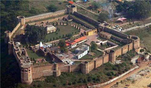 Panoramic View of Bahu Fort in Jammu