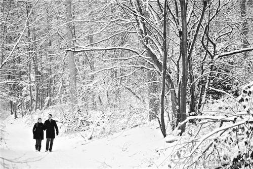 Kashmir Honeymoon in Winters