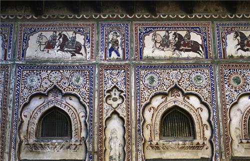 Frescos on the walls