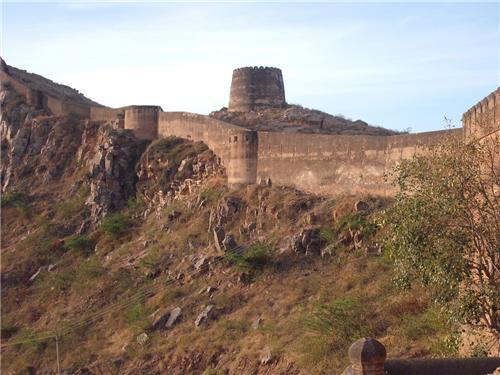Bhopalgarh Fort at Khetri
