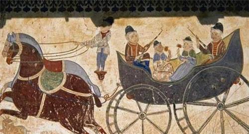 Frescos at Modi Haveli