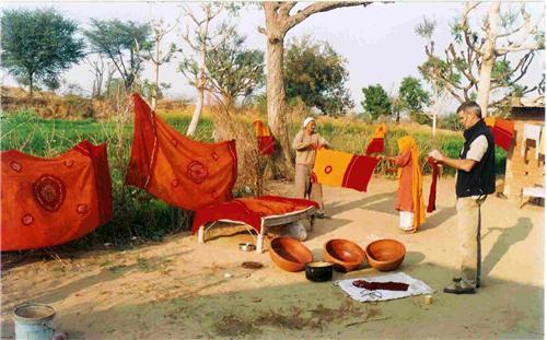 tie and Dye Artisans of Jhunjhunu