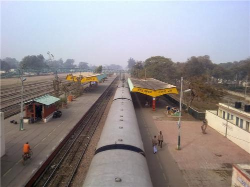 Trains from Jind