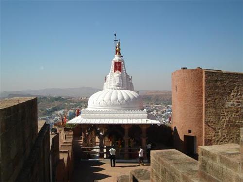 Chamunda Mata Temple in Jodhpur