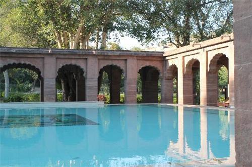Balsamand Lake Palace's Pool