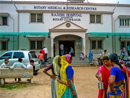 Hospital in Kalol