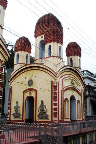 The Kali Temple in Halishahar