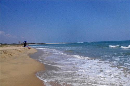 Beach destinations around Kanchipuram