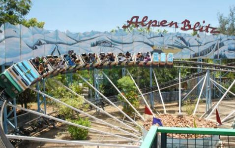 Amusement park in Kancheepuram