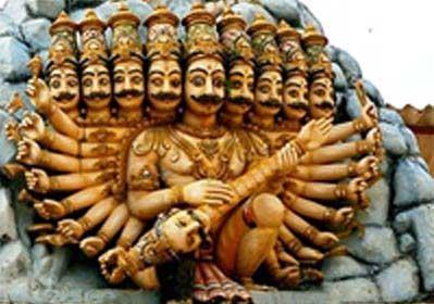 Dashanan Temple in Kanpur