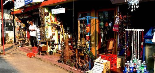 Shopping market in Kasaragod