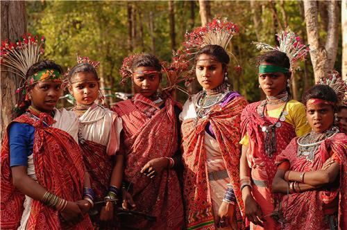 Tribal Population in Khajuraho