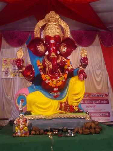 Ganesh Puja in Kolhapur
