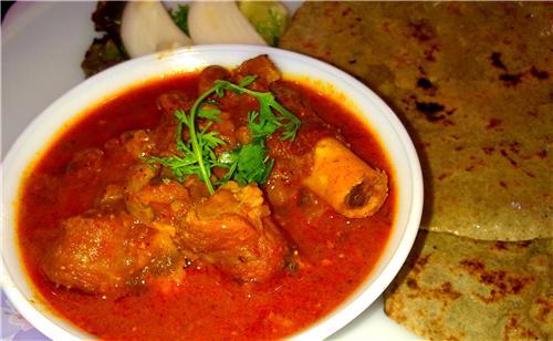 Tambda Rassa-Red Mutton Curry of Kolhapuri
