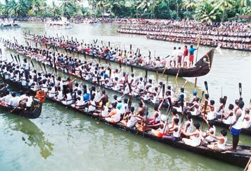 Boat Races - Onam