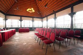 organized wedding hall
